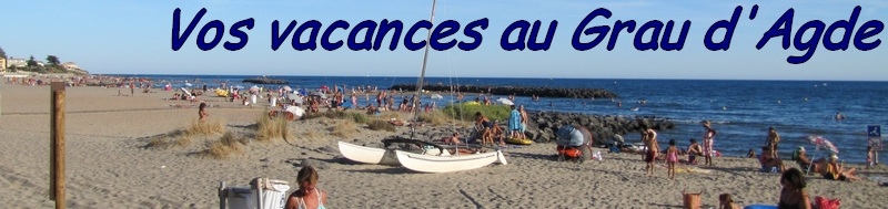 Transat de plages, Restaurants plage du Grau d'Agde, Animation, jeux enfants, Beach Volley...