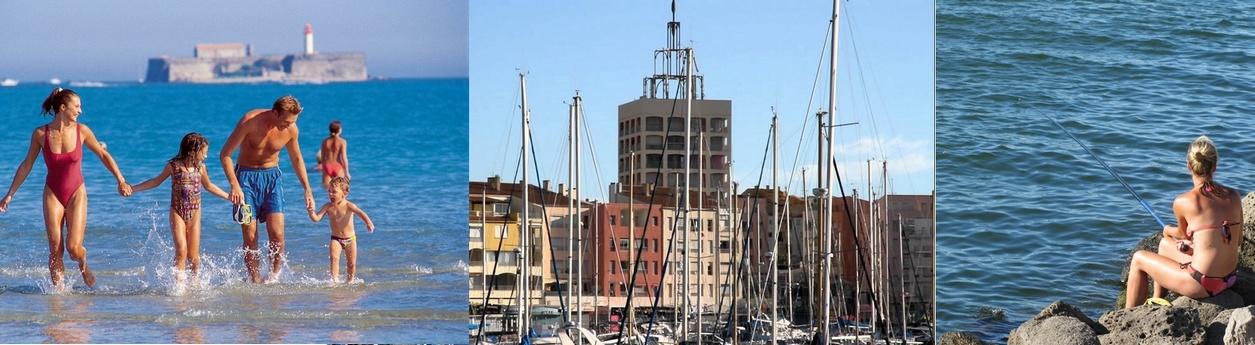 Vacances Plage, Pêche, Nautisme au Cap d Agde