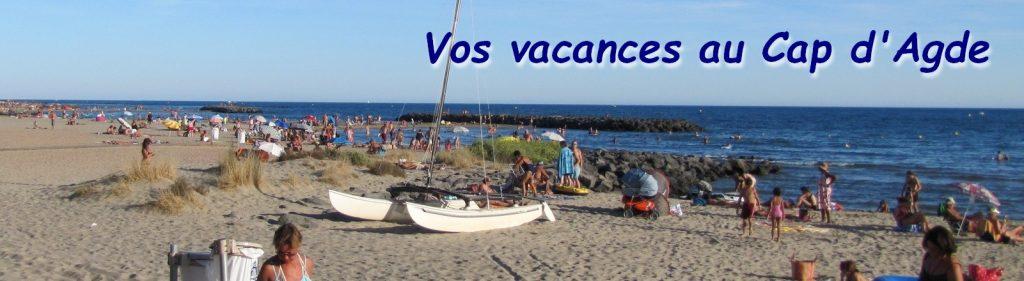 Plages de Rochelongue au Cap d'Agde